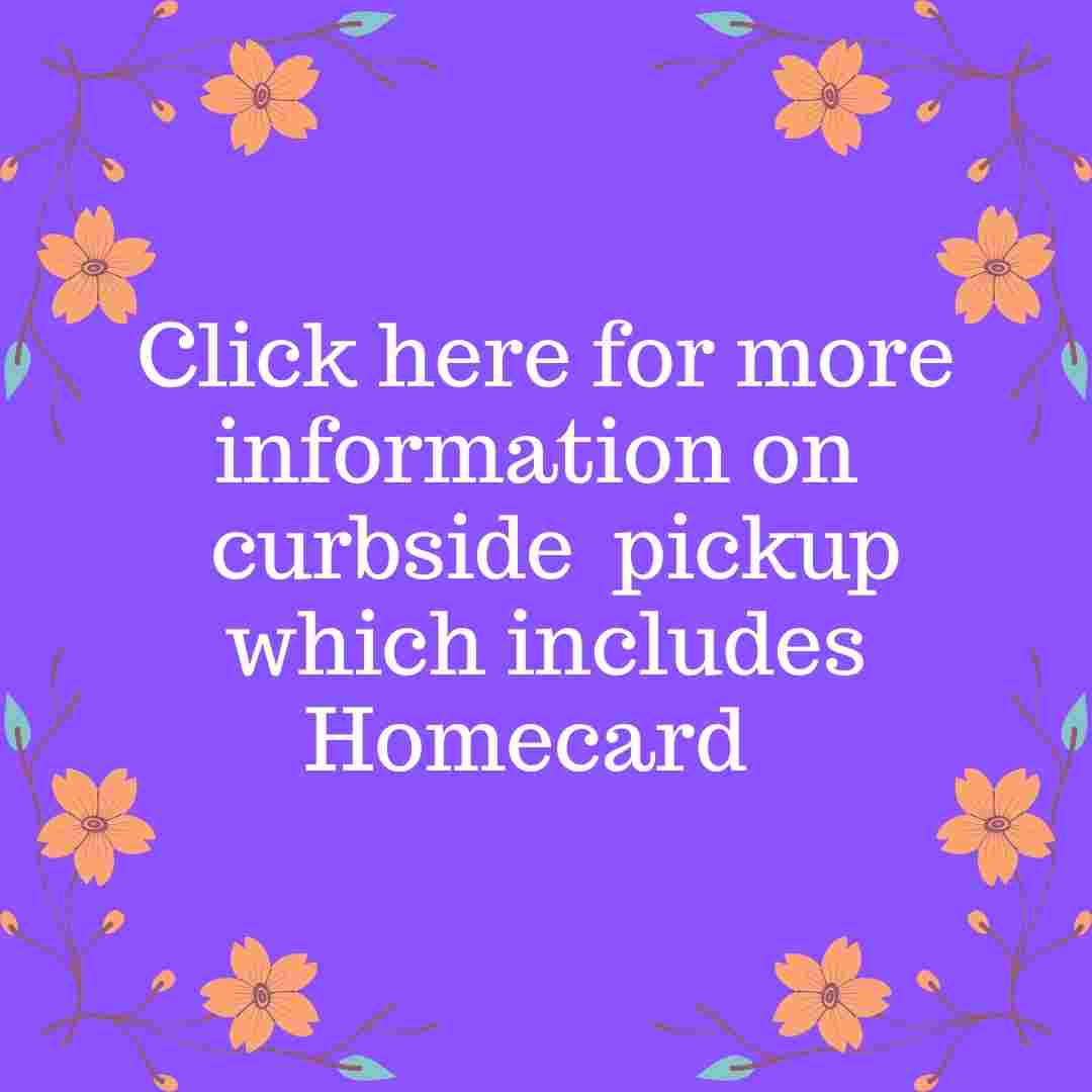 Link to page with information on curbside pickup and browsing appointments