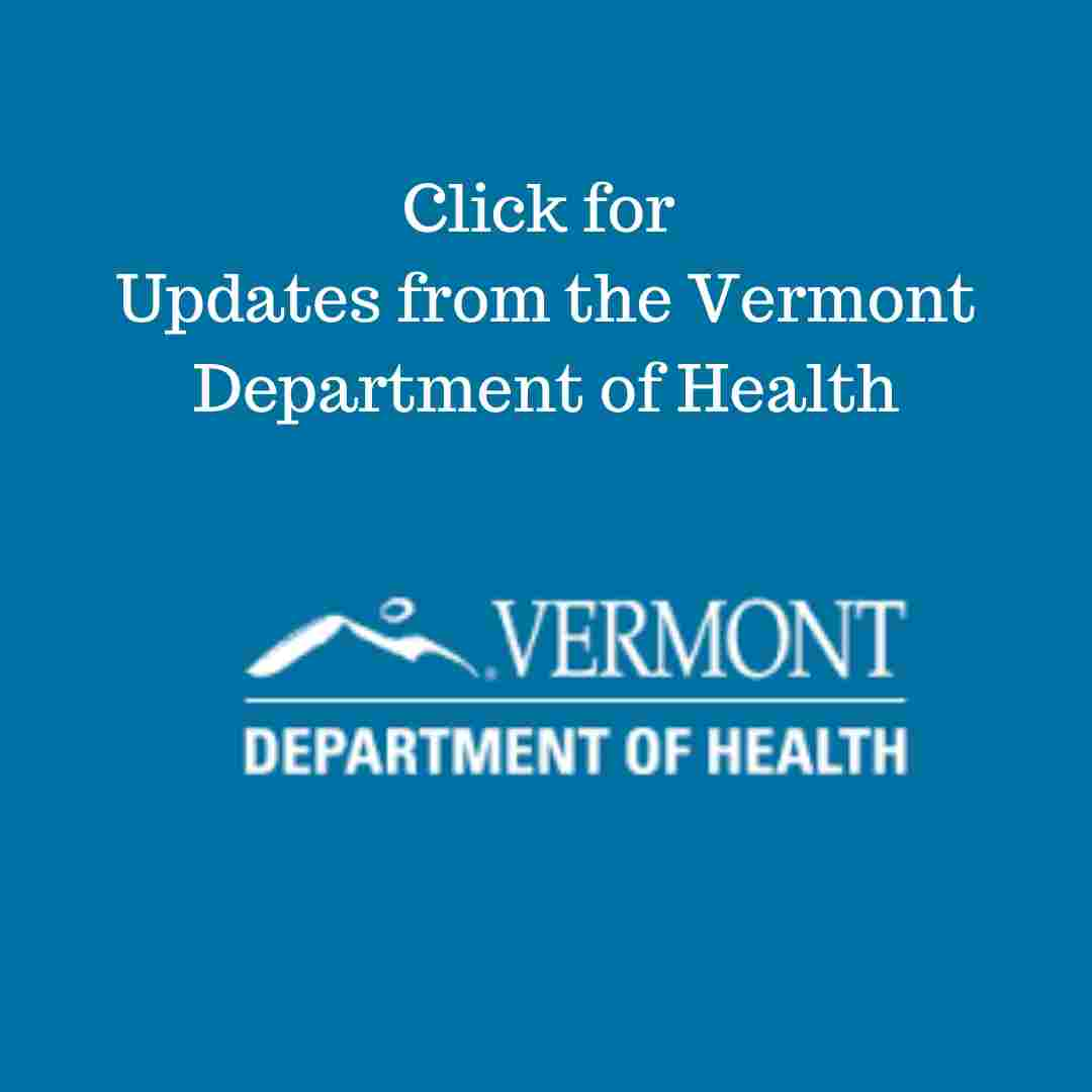 Link to the Vermont Department of Health COVID-19 information